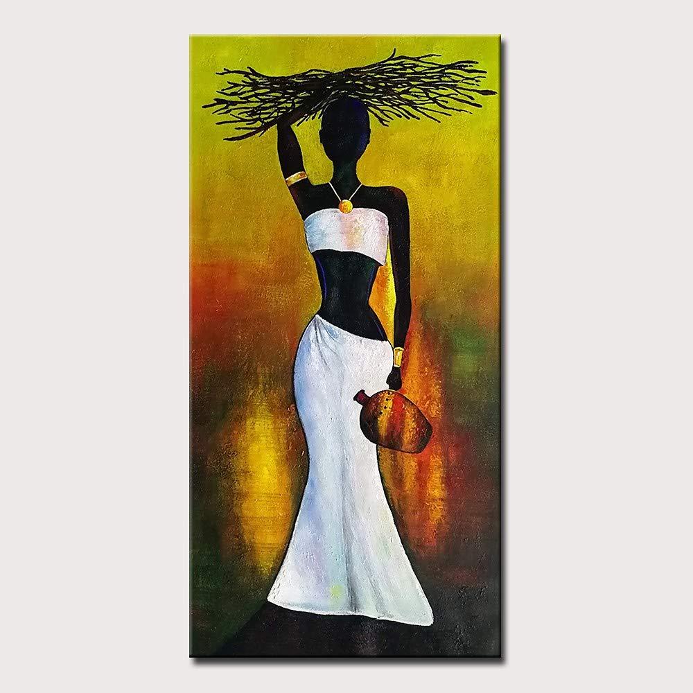 Las ventas en línea ahorran un 70%. 16  X 32  (40cm X 80cm) Pintura Pintura Pintura al óleo Pintado a Mano-Resumen Moderno Lienzo Enrollado  muy popular