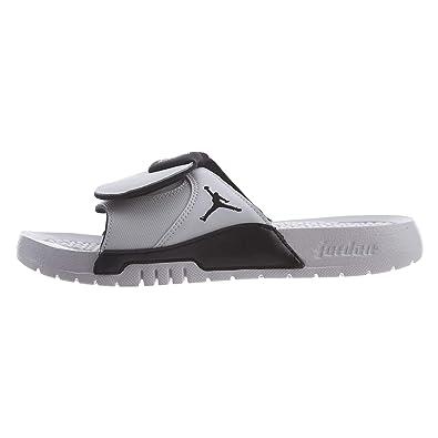 sale retailer e73ae 605eb Boys Jordan Hydro XI White/Black-Black (6 M US Big Kid)