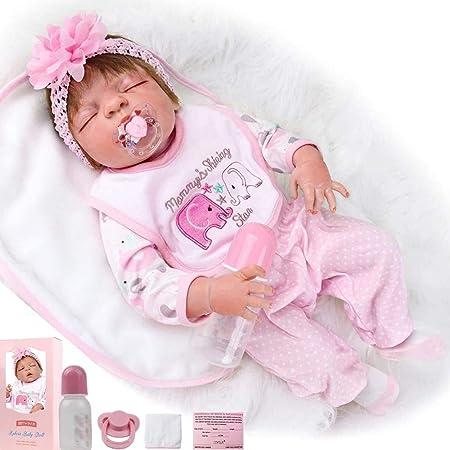 Full Body Soft Vinyl Silicone Newborn Boy Doll Reborn Baby Anatomically Toys PK