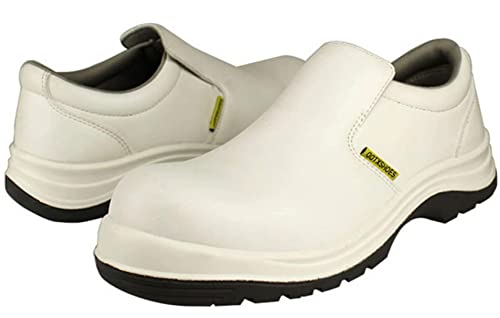 e0a75a9cbbe0 DDTX Safety Work Shoes Unisex S2 Composite Toe SRC Anti-Slip Anti-Static On  Kitchen for Chef White 6-13US  Amazon.ca  Shoes   Handbags