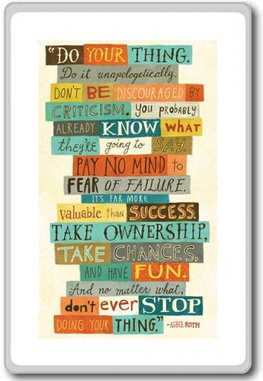 Asher Roth, hacer su cosa, hacerlo... - motivación citas imán para ...