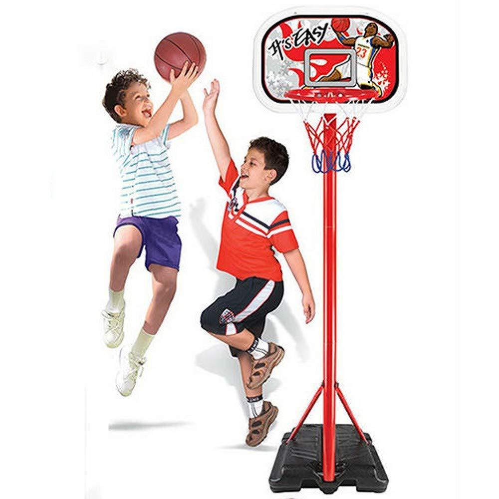 Trade Shop traesio® - Baloncesto Canasta de pie para niños Altura ...