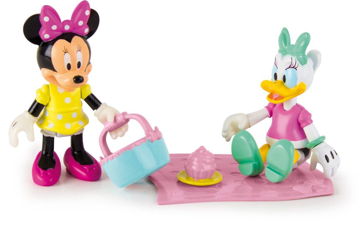 IMC Toys - Set de 2 Figurine Minnie et Daisy Pique-Nique, 181960 Contes et légendes