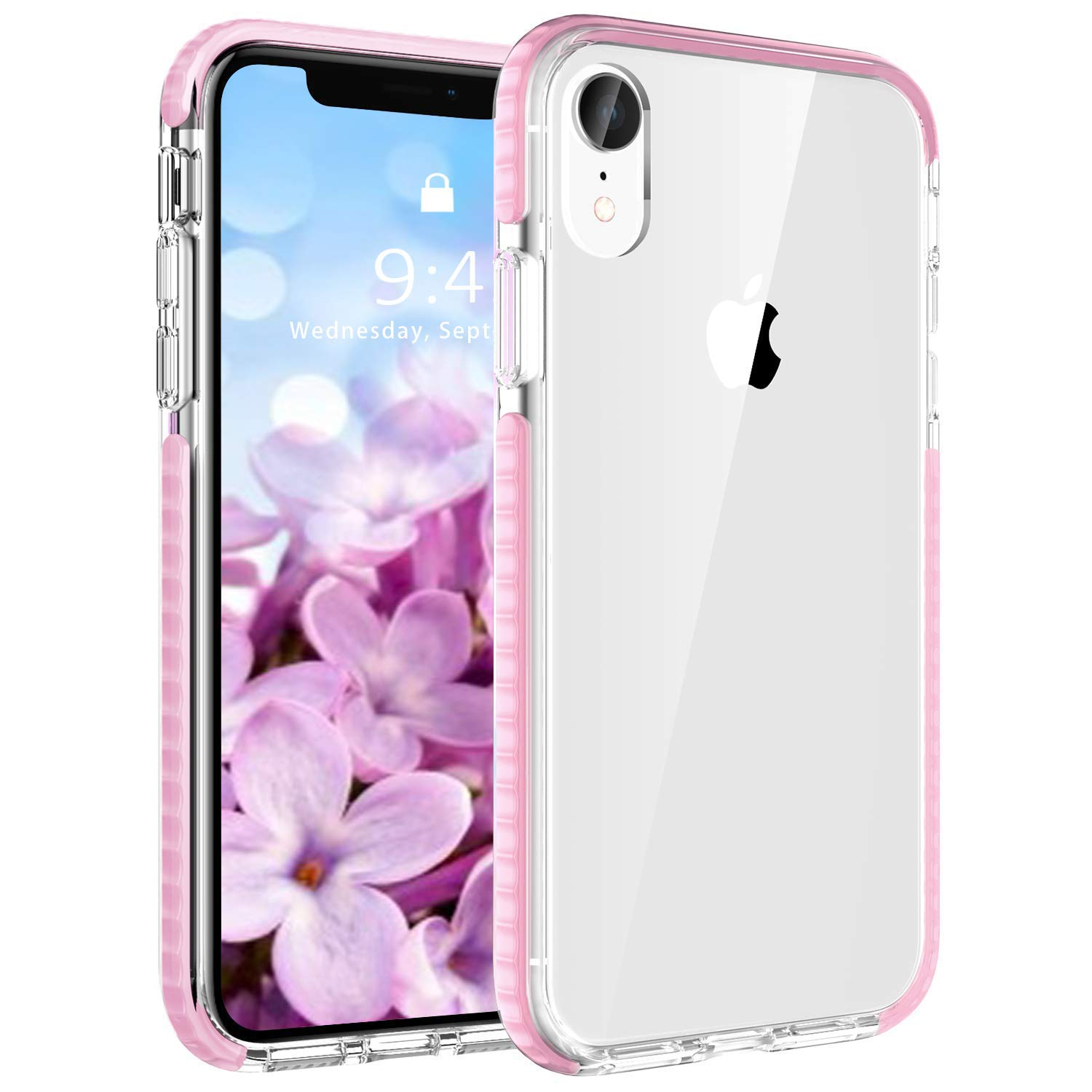 EFFENX iPhone XR Case Clear Thin Slim Anti-Yellow Heavy Duty Bumper Protective Shockproof Case for iPhone XR 6.1inch by EFFENX