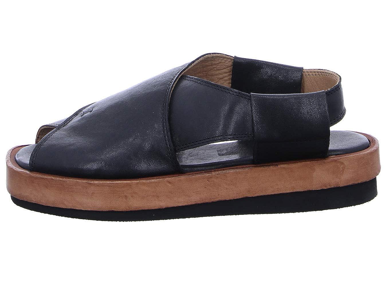 01fcb140831 MOMA Sandalo 33901-8A Lubrix Nero: Amazon.it: Scarpe e borse