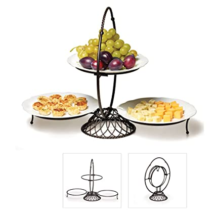 Sensational Basics By Mikasa Collapsible Buffet Server Amazon Co Uk Beutiful Home Inspiration Cosmmahrainfo