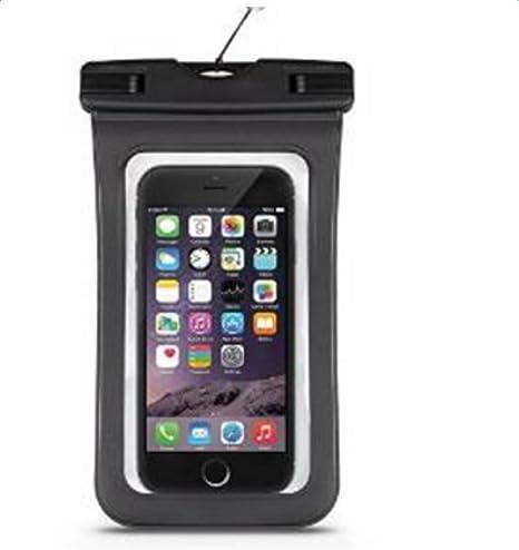 westeng Universal funda impermeable seco bolso de la bolsa bajo el agua para iPhone 6/6 Plus/6S/5S/Android Teléfono Móvil ecológico polvo prueba Touch ...