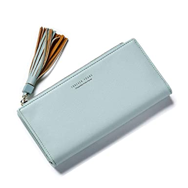 a28960704e2b Amazon.com: WeoHau Fashion Tassel Ladies Long Wallet Casual Clutch ...