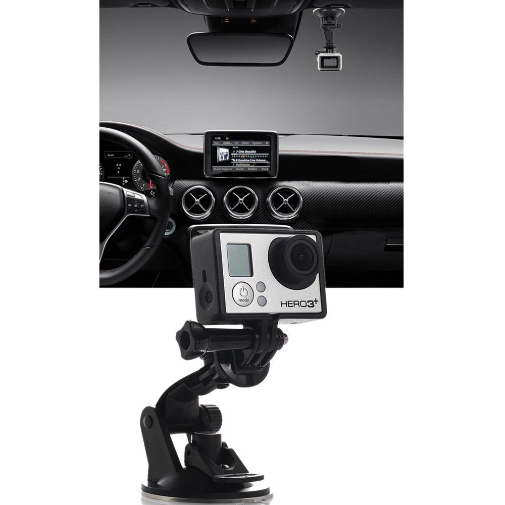 Suction Cup Mount for Gopro,Vinmax Car Windshield and Window Car Mount Holder for GoPro Hero Action Cameras Black
