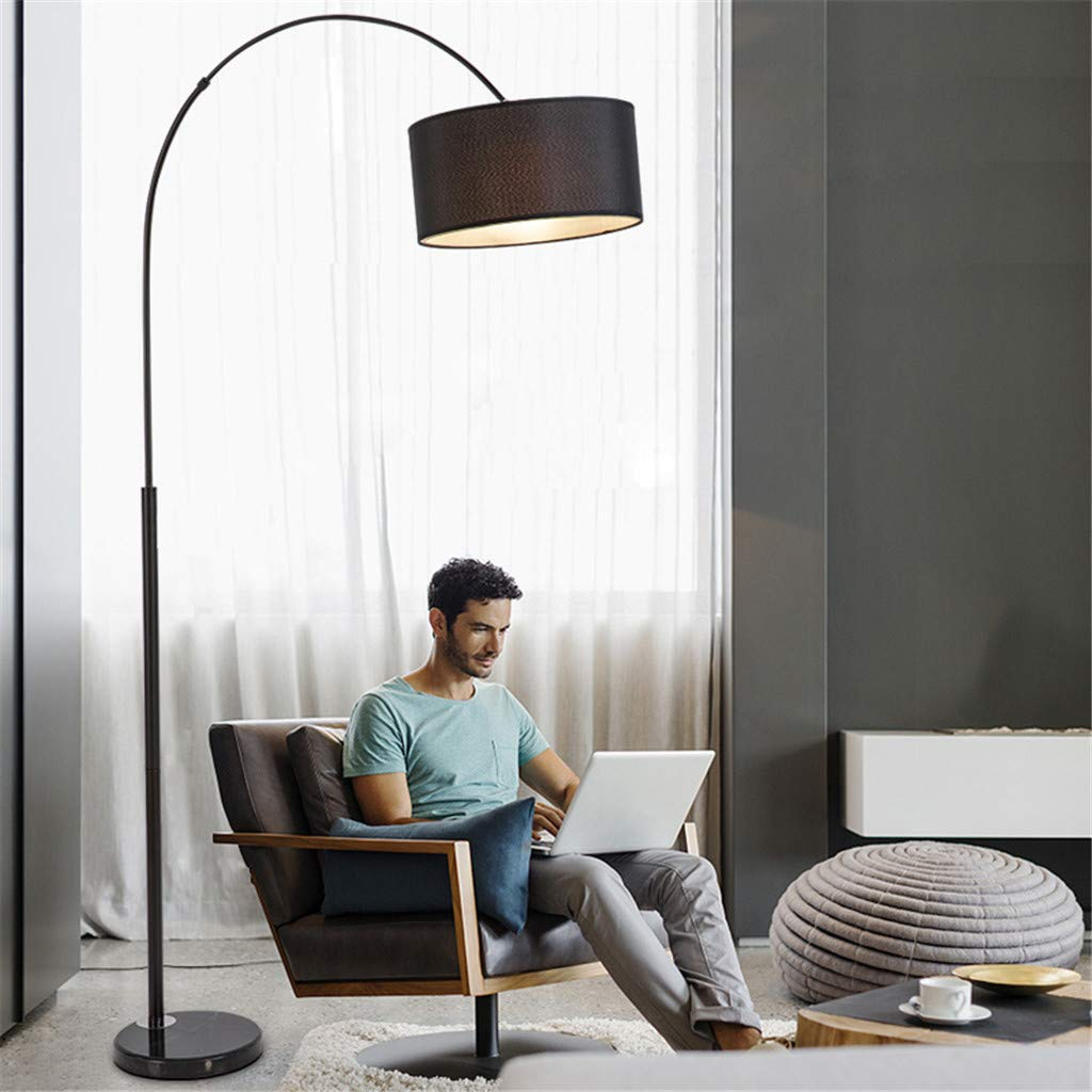 ZYY&LIGHT Lámpara de pie lámpara de Pesca Sala de Estar Dormitorio ...