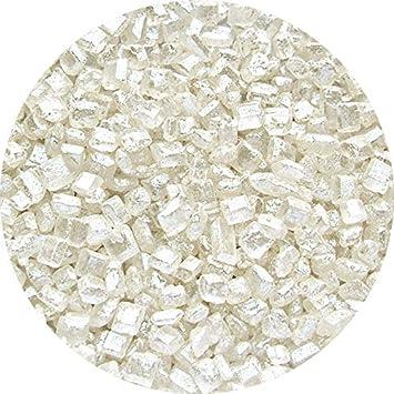 Natural Blanco tuercas leche de soja Gluten OMG libre Shimmer brillante azúcar