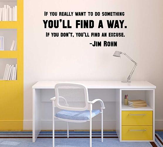 Amazoncom Inspirational Wall Art for Office Jim Rohn  Youll