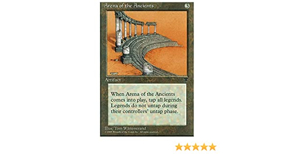 Arena of the Ancients Light Played MTG Legends Magic