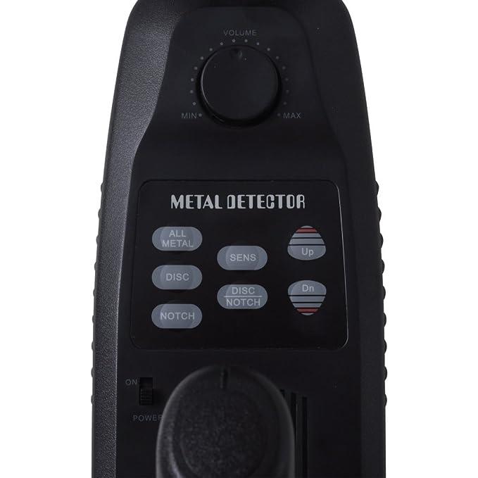vidaXL Detector de Metales Pantalla LCD Bobina Detectora 20 cm Búsqueda Metal: Amazon.es: Hogar