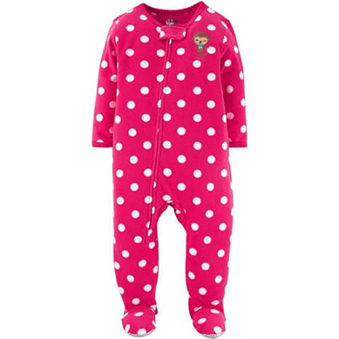 Image Unavailable. Image not available for. Color  Child of Mine Baby  Toddler Girl Fleece Sleeper 866f8e0a2