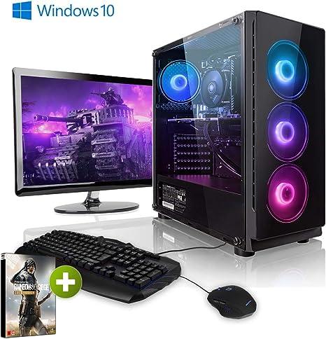 Pack Gaming - Megaport PC AMD Ryzen 7 2700X • 24