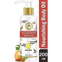 Mom & World Mother Nourishing Body Oil - 200ml - Complete Moisturising, 100% Pure Oils - No Mineral Oil