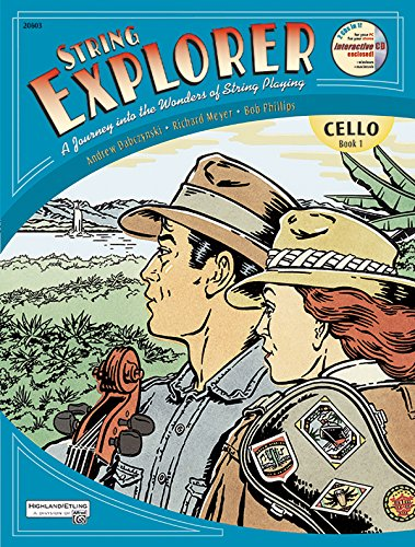 (String Explorer, Bk 1: Cello, Book & Interactive CD)