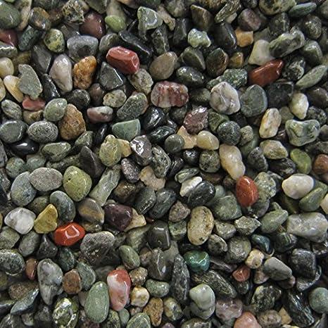 15 kg inoxidable Grava grano grueso 8 - 15 mm Premium Calidad de Orbit suelo Razón Acuario Grava: Amazon.es: Productos para mascotas