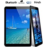 "Tiptiper 9"" inch Android Tablet PC A33 Quad Core 16GB 1.5GHz 1080P TFT Screen Black With Wifi Bluetooth[UK plug]"