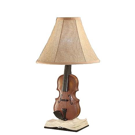 JHTdeng Lámpara de Mesa lámpara de Mesa Americana Lámpara de ...