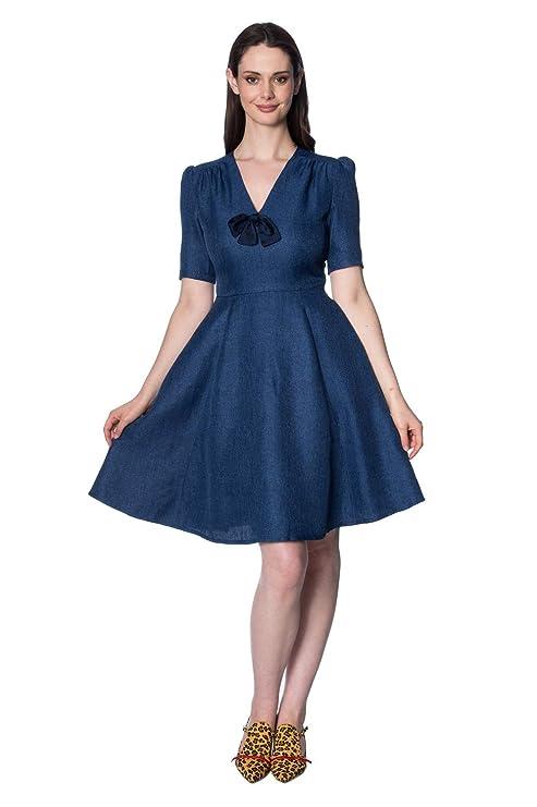 b4b438c2856 Banned Plus Size Secretary Dress  Amazon.co.uk  Clothing