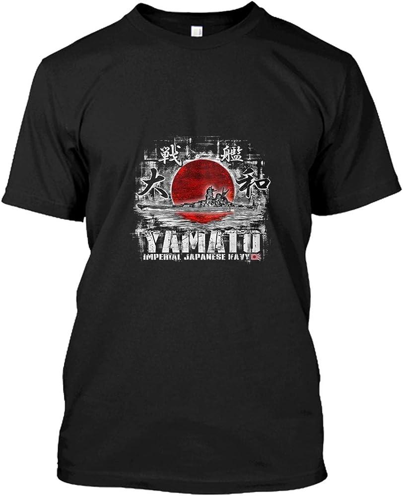 popularshop Battleship Yamato Comfort Soft Short Sleeve Shirt BGBTAFII