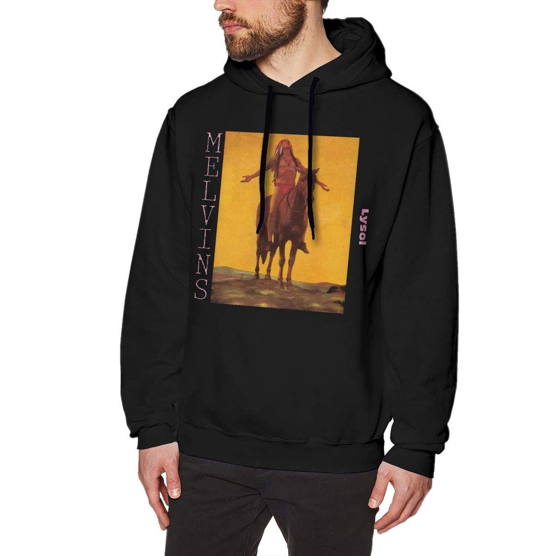 The Melvins Classic Mens Long Sleeve Sweatshirts Mens Hoodies Black