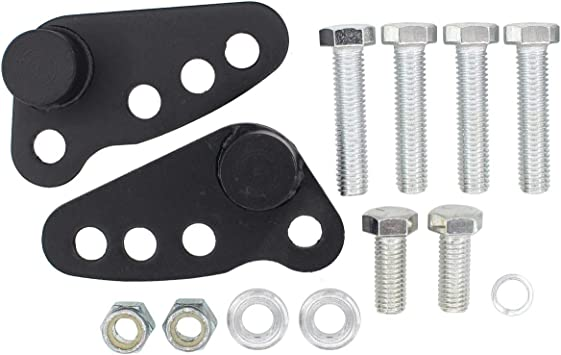 Adjustable Rear Lowering Kit for Street Glide Road Glide Electra Glide Ultra Glide Road King 2002-2016