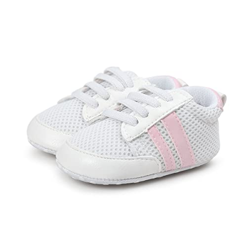 f699eafbd459d Tutoo Newborn Prewalker Baby Shoes Boys Girls Toddler Soft Anti-Slip Net  Sole Surface Shoes