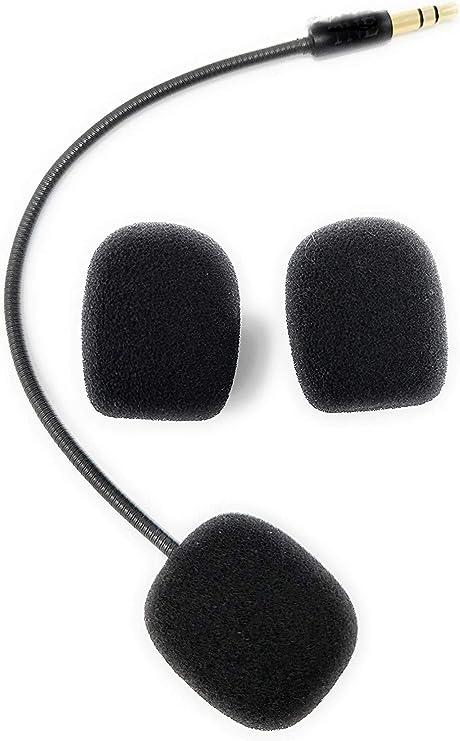 Micrófono de Repuesto Boom Mic 3,5 mm Playstation 4 Xbox One PS4 ...