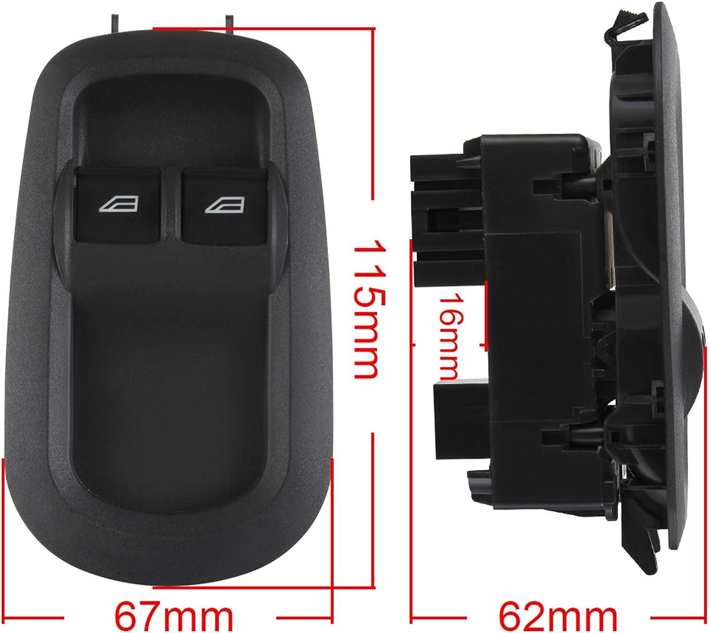 V363 Mk8 Custom 2014-2017 Madlife Garage Drivers Side Door Double Window Switch GK2T14A132CA For Transit V362