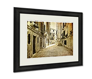 amazon com ashley framed prints venetian pictures artwork in retro