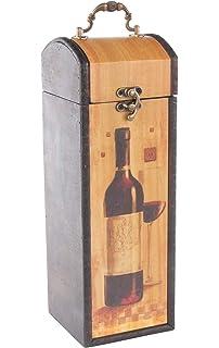 MYBOXES - Caja de Regalo para 1 Botella de Vino (10,8 x 11,5 x 32 cm): Amazon.es: Juguetes y juegos