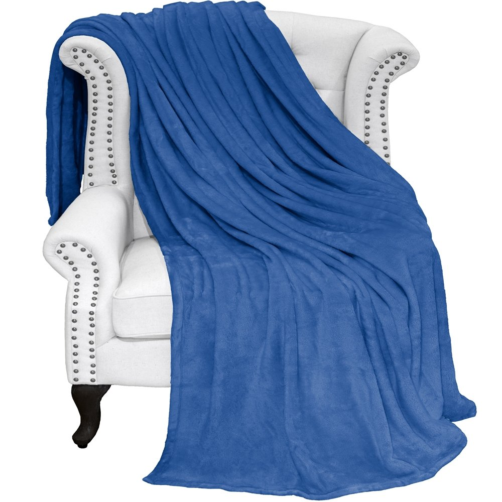 Bare Home Ultra Soft Microplush Velvet Blanket - Luxurious Fuzzy Fleece Fur  - All Season Premium 433d44f27