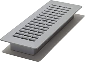 Decor Grates PL310-GY 3-Inch by 10-Inch Plastic Floor Register, Frost Grey