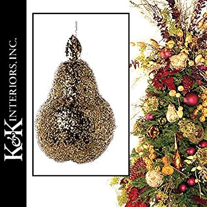 Amazon.com: Christmas Ornaments | Fruit 50175G Large Crushed Icy ...