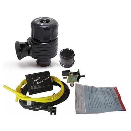 Amazon.com: Universal 25mm Turbo Diesel Electronic Blow off Valve Dump Valve Kit: Automotive