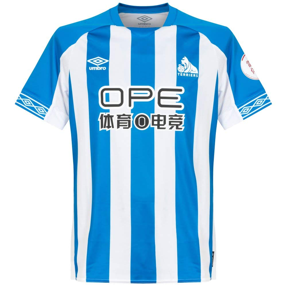Umbro 2018-2019 Huddersfield Town Home Football Soccer T-Shirt Trikot