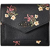 COACH Womens Small Wallet With Floral Bow Print