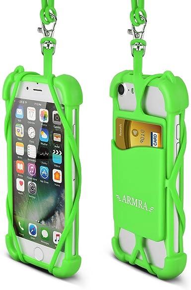 2 en 1 teléfono celular Lanyard correa caso, Universal Smartphone ...