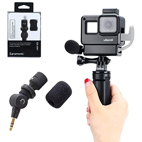 Amazon.com: Vlog - Carcasa para GoPro Hero 7 6 5, V2 ...
