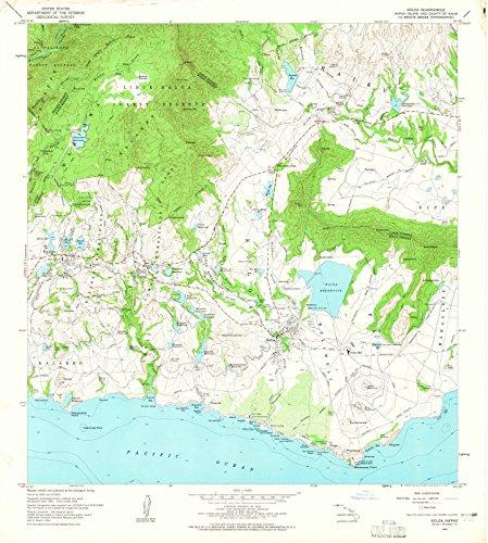 Hawaii Maps | 1963 Koloa, HI USGS Historical Topographic Map |Fine Art Cartography Reproduction - Hi Koloa