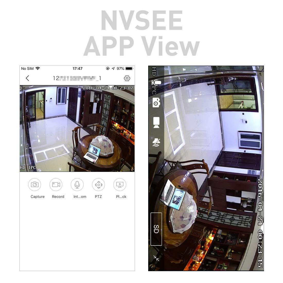 I706-2-P Negro PoE HD 3MP Mini c/ámara IP Revotech/® H.265 1080P 1296P 2MP para Interior Agujero de alfiler Metal C/ámara Seguridad ONVIF P2P CCTV C/ámara Sistema