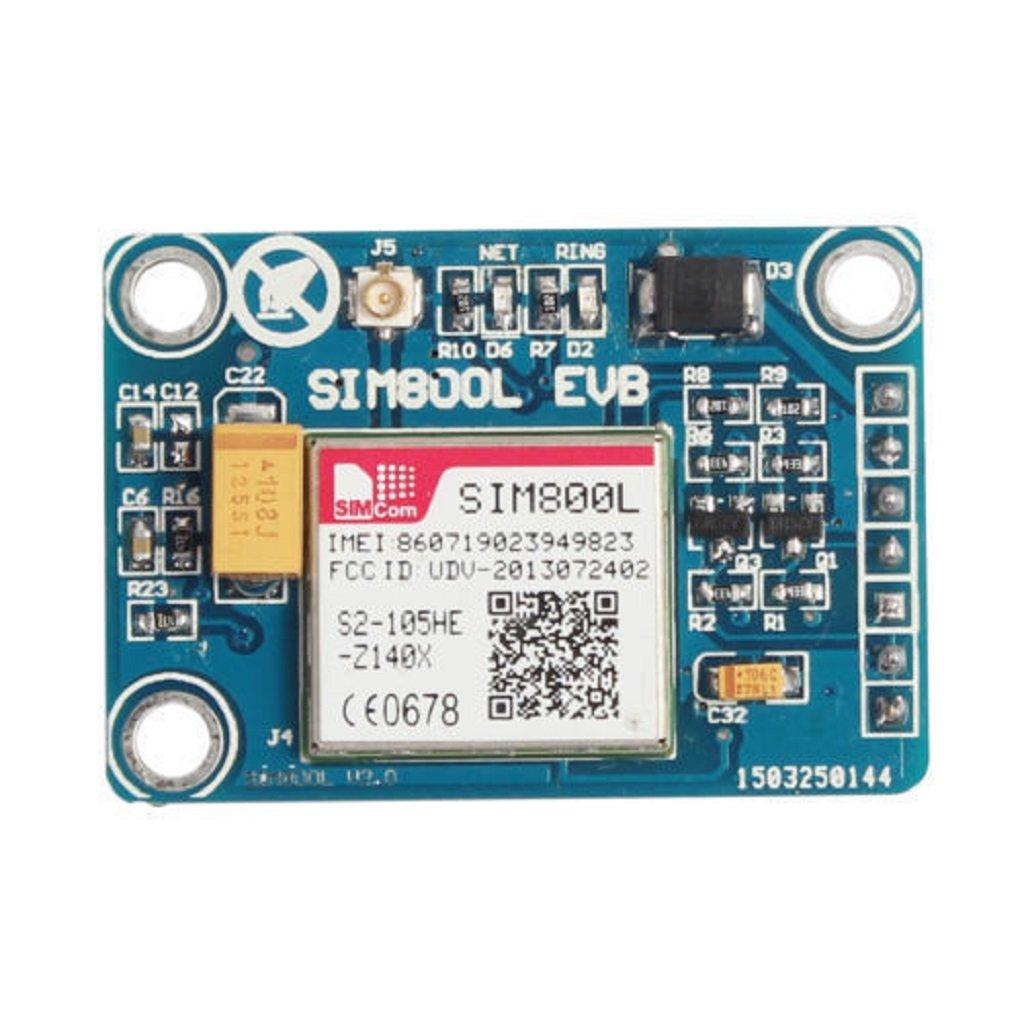 Homyl 1pcs SIM800L GPRS GSM Module con Antenna TTL Seriale Microcontrollori per Arduino df2a2071d609605ee385df4048c3edce