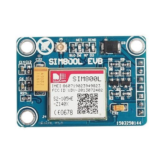 3 opinioni per Sim800l Gprs TTL Porta Modulo GSM Micro Bordo Di Centro Sim Quad-band Per