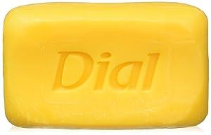 Dial Nutriskin Moisturizing Glycerin or Antibacterial or Deodorant Bar Soap, Gold Antibacterial Deodorant, (10 Count of 4 oz Bars) 40 oz
