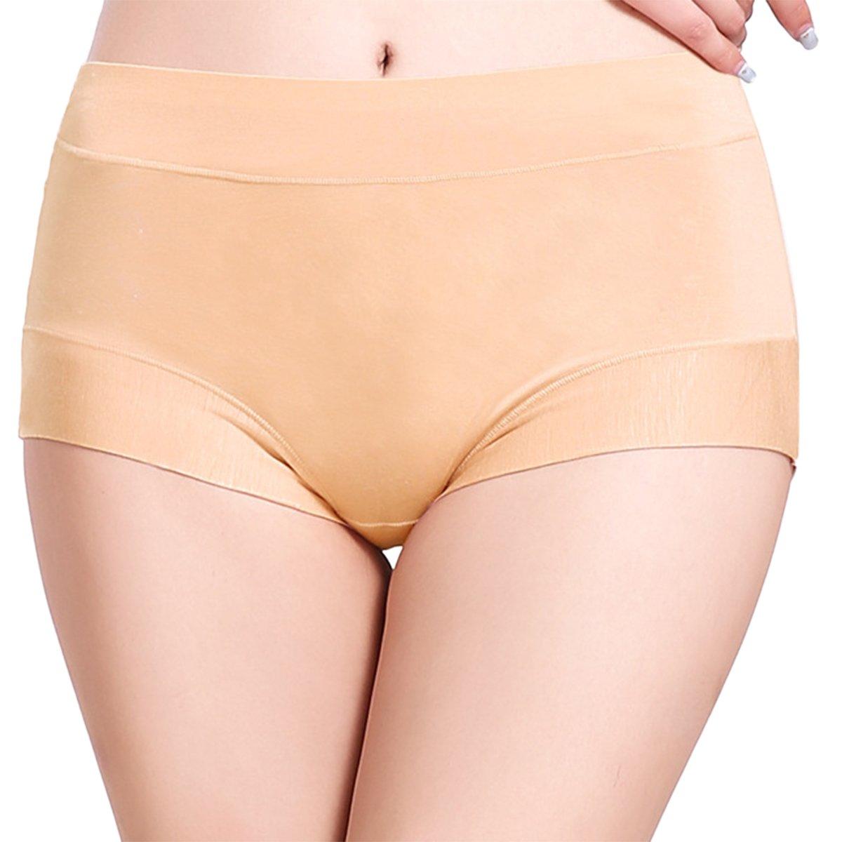 LAPAYA Women's Underwear Stretch Mid Rise Comfort Soft Boyshort Panties-2 Pack