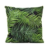 TOOGOO(R) Floral Tropical Plant leaves Pillow Case Cushion Home Decor #26