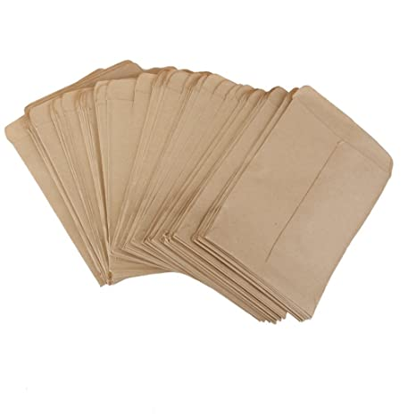 Amazon.com: Jesica Approx 100 Pcs Simple Durable Kraft Paper ...
